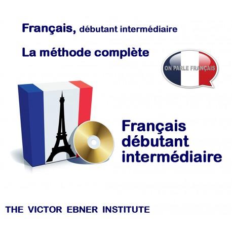 FRANCAIS Débutant,intermédiaire,méthode complète en DVD