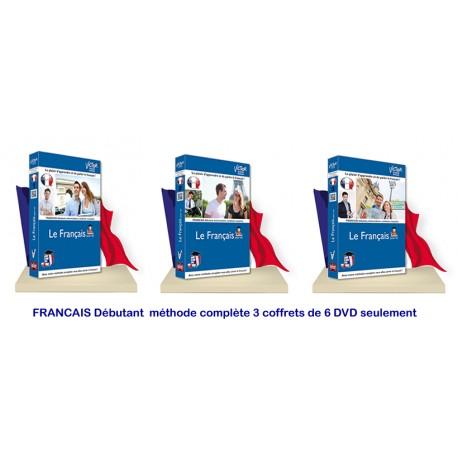 FRANCAIS Débutant méthode complète 6 DVD seulement