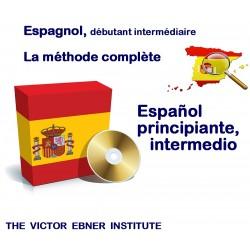 Espagnol,débutant intermédiaire méthode complète
