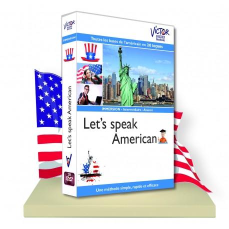 ANGLAIS Américain immersion en DVD