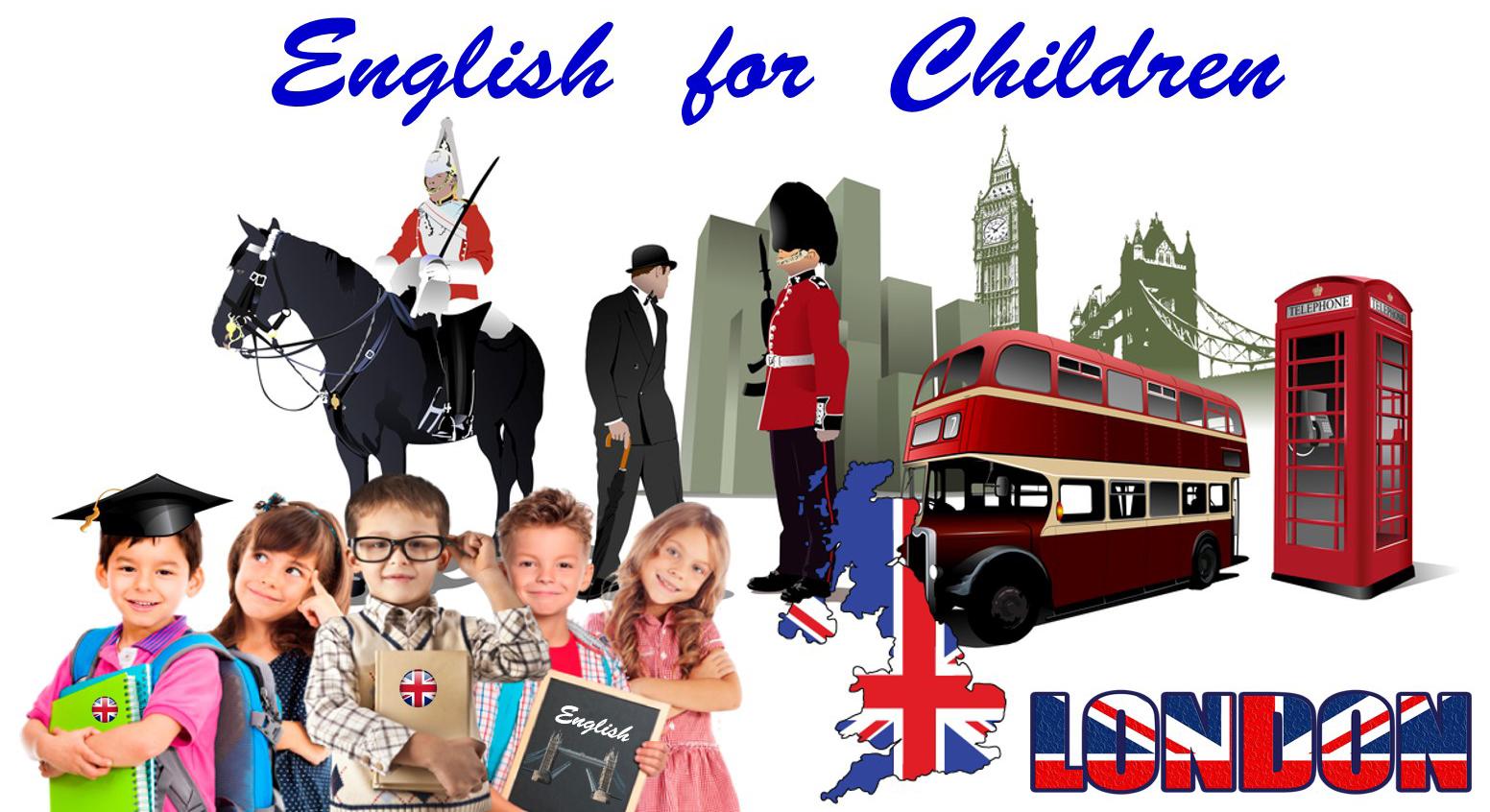 anglais pour les enfants